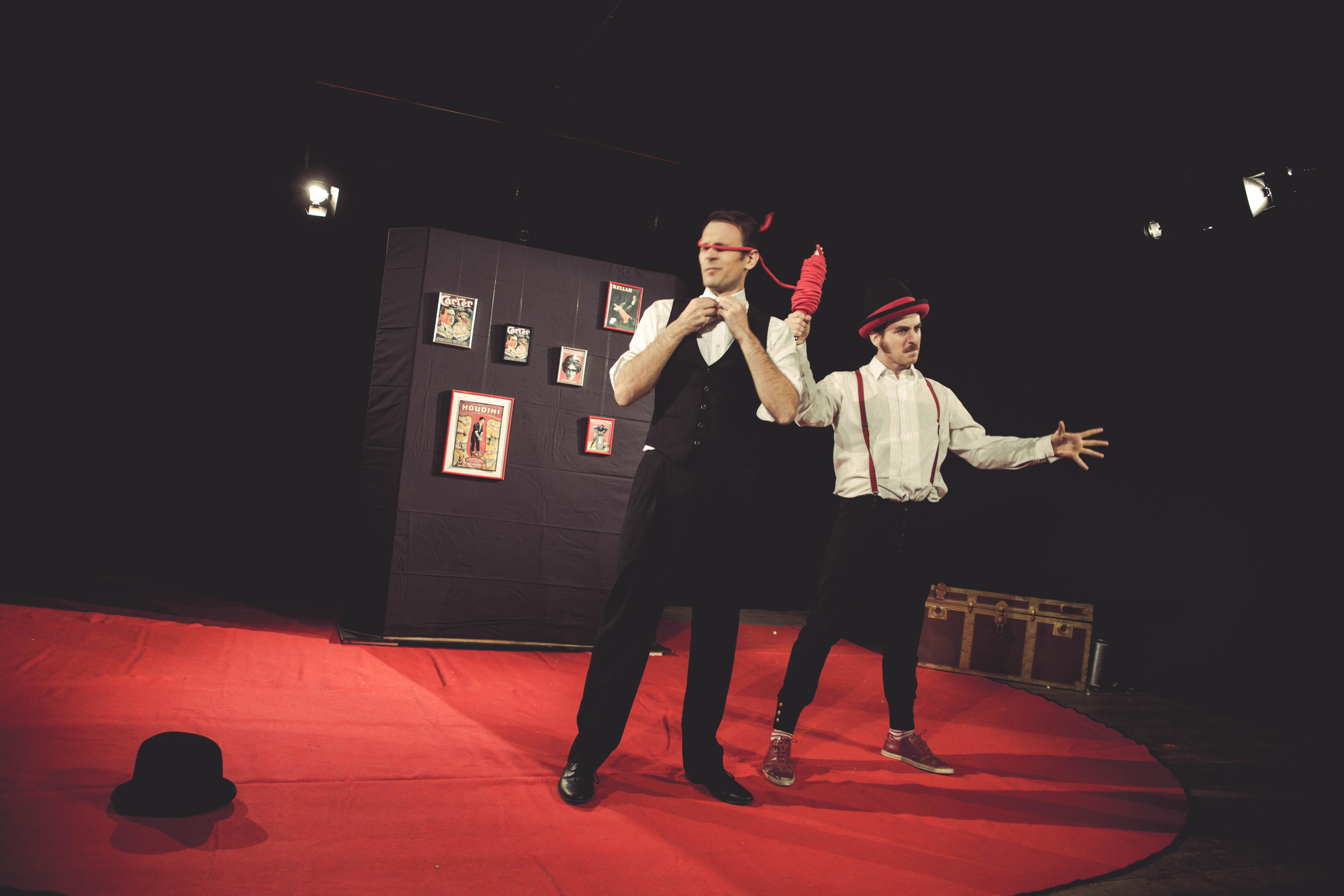 """L'Abile Teatro [IT] – """"Mago Per Svago"""""""