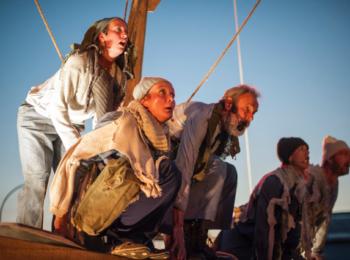 Theater Gajes integra atores amadores locais em Odyssee
