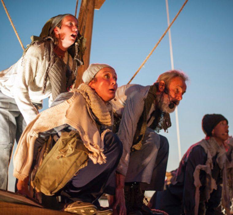 Theater Gajes integra atores amadores locais em Odyssee 40
