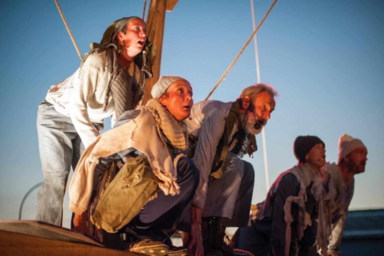 Theater Gajes integra atores amadores locais em Odyssee 1