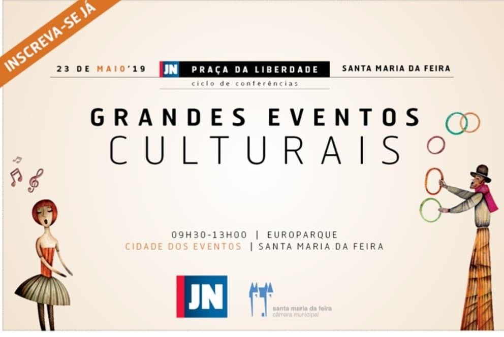 Conferência 'Grandes Eventos Culturais' 1