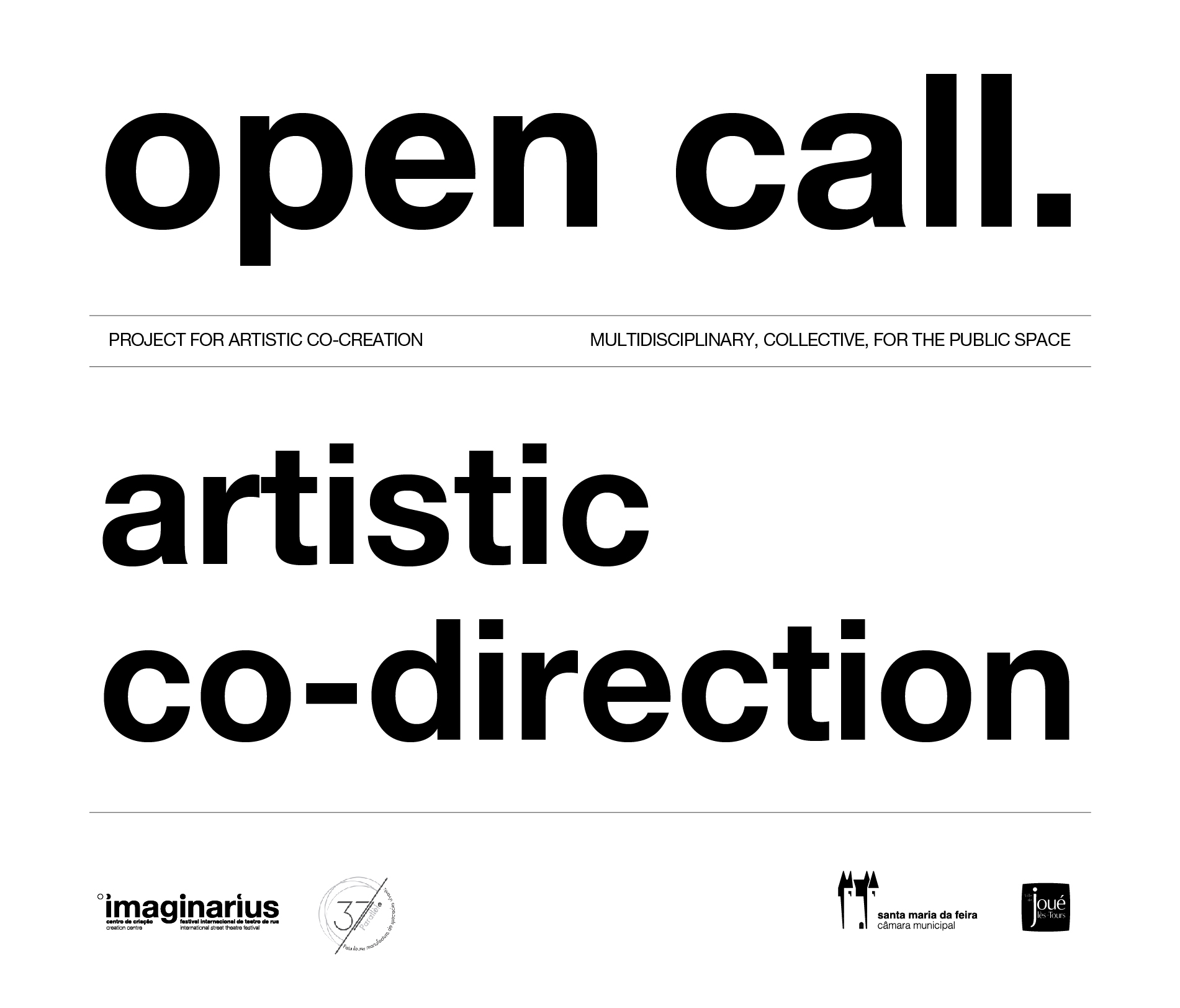 Call for artistic direction in joint creation 1