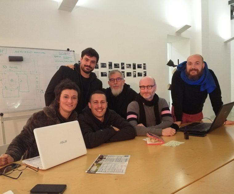 Cocriação SM da Feira e Joué-Lés-Tours: direção artística em residência para redação do projeto 1