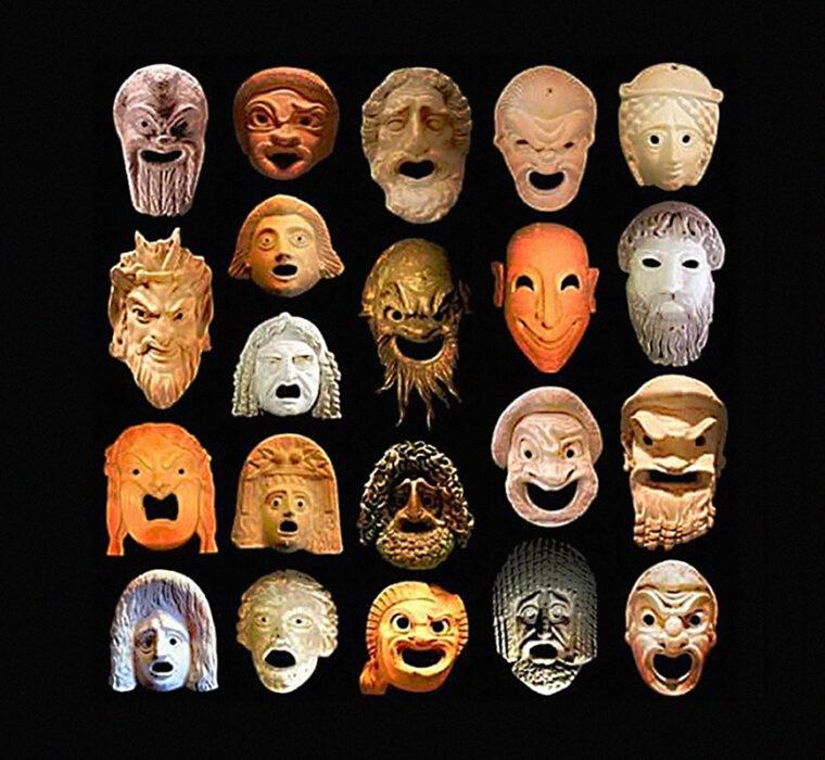 """Workshop """"Da Tragédia à Comédia – As Máscaras do Pantheon""""<span class=""""sub_portfolio""""> TEATRO EM CAIXA [PT]</span> 18"""